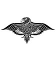 tattoo eagle bird vector image vector image