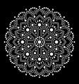 aboriginal dot painting mandala australian ethnic vector image vector image