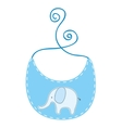clothing baby dress icon vector image vector image