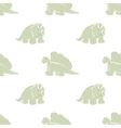 cute dinosaurs on a white background vector image vector image