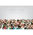 large group of people vector image vector image