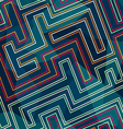 neon seamless pattern vector image vector image