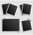 photo frames set - digital photo frames vector image vector image