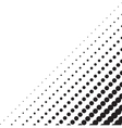 Background with halftone in the corner vector image