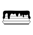 cake icon image vector image vector image