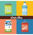 Drinks icon design vector image vector image