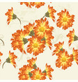 floral seamless wallpaper pattern with flowers vector image