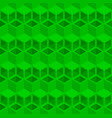 green cubes pattern seamless background vector image vector image