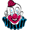 Happy clown vector image vector image