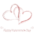 St valentine days greeting card vector | Price: 1 Credit (USD $1)