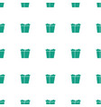 take away food icon pattern seamless white vector image vector image