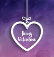 be my valentine background 1412 vector image vector image