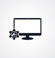 computer desktop repair setting vector image