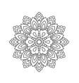 Mandala in ethnic oriental style decorative