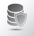 database protection vector image