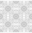 Gray flower pattern seamless vector image