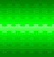 green geometric pattern background vector image vector image