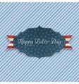 Happy Labor Day realistic Badge with Text vector image vector image