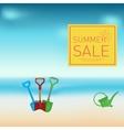Hot Summer Sale design vector image