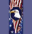 national symbol of the usa vector image vector image