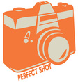Perfect Shot vector image vector image