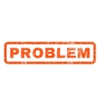 Problem Rubber Stamp vector image vector image