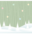 winter- christmas vector image vector image