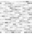 gray and white brick wall pattern seamless vector image