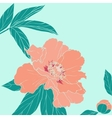 Hand drawn of ornate flower vector image