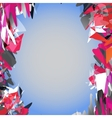 Abstract colorful background Modern design pattern vector image vector image