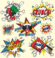 Comic book explosions vector | Price: 1 Credit (USD $1)