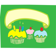 Cupcake Banner vector image vector image