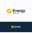 energy logo vector image
