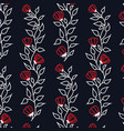 floral branch pattern vector image vector image