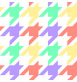 houndstooth seamless pattern repeat vector image vector image