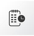 long-term plan icon symbol premium quality vector image