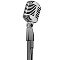 Microphone MG 2833 vector image vector image