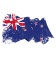 New Zealand Flag Grunge vector image vector image