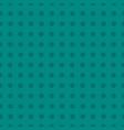 square seamless pattern of teal polka dots vector image vector image