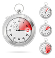 timers set vector image