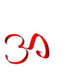 art ohm sign om symbol yoga aum symbolizing vector image vector image