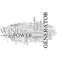 best way to power your rv text word cloud concept vector image vector image