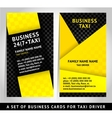 card design - business template vector image vector image