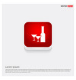 champagne bottles icon vector image
