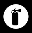 fire extinguisher icon design vector image