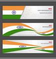 india independence day abstract background design vector image