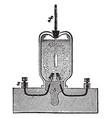 lenzs apparatus vintage vector image vector image