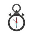 navigation compass symbol vector image vector image