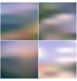 web and mobile interface templates Blurred vector image vector image