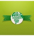 World Environment Day festive Banner Template vector image vector image